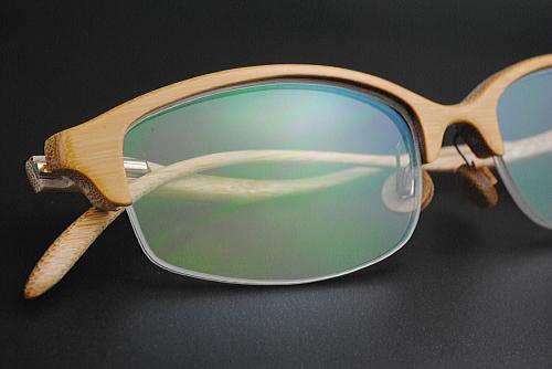 Bamboo eyewear 鯖江市産 メガネ