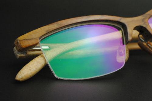 Bamboo eyewear