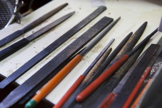 竹めがね職人の道具 JAPAN QUALITY